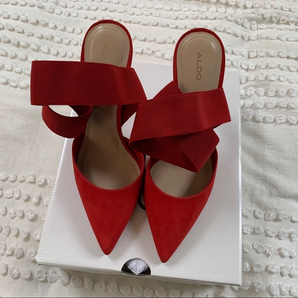 Aldo Shoes   Also Red Pointy Toe